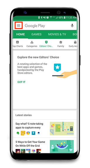 Updating your App - Android – Frontline Jobulator
